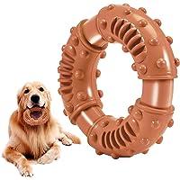 Feeko 耐用狗狗咀嚼玩具 – *坚韧的天然橡胶 – 牛肉口味 – 纹理凸点狗狗玩具适合所有霸气的狗狗小狗 – 有趣的…