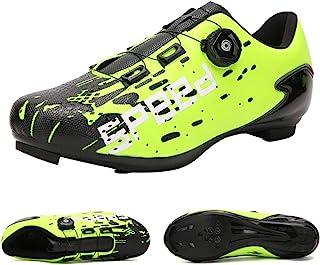 SUN ROLLING 自行车鞋 公路赛车鞋 Peloton 鞋 男女适用 SPD 和 Delta 防滑