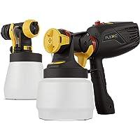 Wagner 通用喷雾器 W 570 FLEXiO - 用于墙壁和天花板/木材和金属涂料的电动喷雾器 - 室内和室外使用…