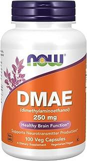 NOW Foods 诺奥 DMAE(二甲基氨基乙醇)250毫克,100粒素食胶囊