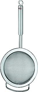 Rösle 厨房筛 粗网 优质筛子 用于清理和通行,清洗沙拉和蔬菜,不锈钢 18/10,洗碗机适用,20厘米