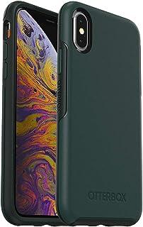 OtterBox SYMMETRY 系列手机壳,适用于 iPhone Xs 和 iPhone X - 零售包装 - IVY MEADOW(翠绿/围巾)