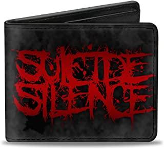 带扣双折钱包自杀安静