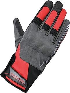 Rosso StyleLab 摩托车手套 防护Active 冬季手套 GRAY/RED S RSG-317
