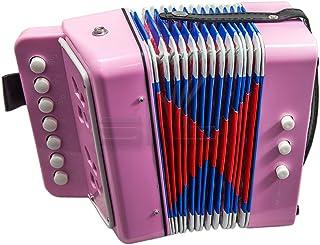 SKY Accordion 7 按钮 2 低音儿童乐器 易于玩耍