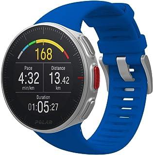 POLAR VANTAGE V 蓝色 专业 GPS 运动手表 防水 心率 Trial Slide 跑步 90080283