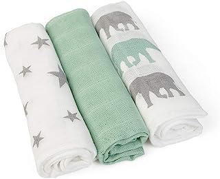 GRÜNSPECHT 天然产品 1501-V4 护理/毛巾,6件,30 x 30厘米,多色,960克