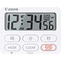 Canon 佳能 计时器 厨房计时器 * 磁铁 大型液晶 白色 CT-50-WH