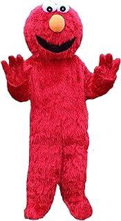 Elmo Red Monster 吉祥物服装毛绒卡通服装
