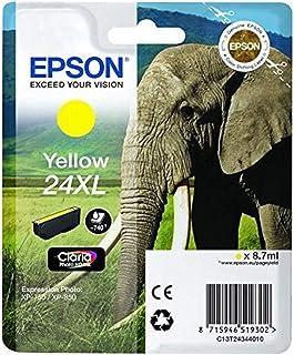 Epson 爱普生 T24 墨盒 大象 XL 黄色 黄色