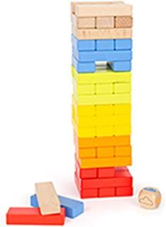 Small Foot 11692 摇摆塔彩虹,经典游戏,适合全家,运动技能玩具,3岁以上