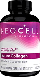 NeoCell 海洋胶原蛋白与透明质酸和维生素矿物 120粒(包装可能有所变化)