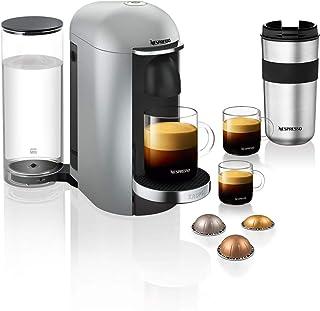 Krups Nespresso Vertuo Plus 胶囊咖啡机 银 XN900E
