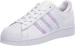 adidas 阿迪达斯 Originals 儿童 Superstar 运动鞋 白色 5 Big Kid