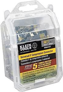 Klein Tools 通用压缩连接器 50-Pack VDV812-612