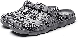 CERYTHRINA 男式女式花园洞洞鞋夏季凉鞋轻质防滑徒步运动鞋男女通用成人洞鞋适用于泳池沙滩庭院厨房淋浴
