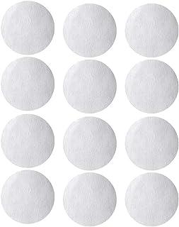 """12 个合成过滤器圆盘 - 70 毫米直径,适用于布克纳漏斗,FIT""""常规口""""尺寸,用于蘑菇栽培,高耐高温和高压"""
