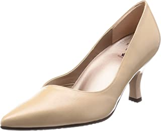 [华歌尔 saces wake] 尖头 浅口鞋 鞋跟7cm 足围E WIN101 女式