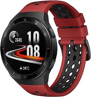 Huawei 华为 GT 2e 智能手表,1.39 英寸 AMOLED 高清触摸屏,2 周电池寿命,GPS 和 GLONASS,自动检测 6 种运动模式,15项运动追踪,SpO2,心率监控,熔岩红