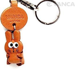 兔子皮革 Zodiac 吉祥物小钥匙扣 VANCA CRAFF - 可收藏钥匙圈
