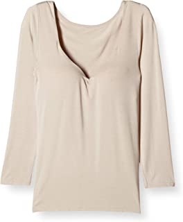 GUNZE 郡是 文胸内衣 HOTMAGIC 温暖魔术 塑形罩杯 8分袖 女式