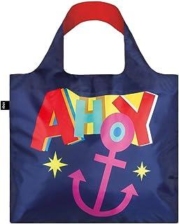 "LOQI""Nautical Ahoy"" Shopping Bag"