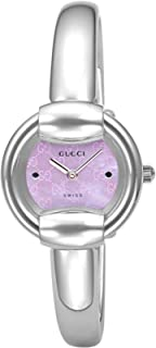 [古驰]GUCCI 腕表 1400 粉珍珠色表盘 YA014513 女士