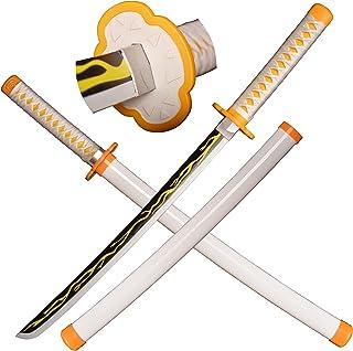 SV 木制动漫武士刀角色扮演,恶魔刀剑 29 英寸(约 73.6 厘米)木制剑 - 多种款式可供选择
