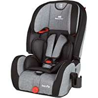 日本育儿 ISOFIX・*带固定两用 儿童*座椅 高靠背增压器 EC Fix 灰色牛仔布 1岁~ ( ) 6210031…