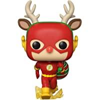 Funko 50654 POP 英雄系列:DC Holiday-Rudolph Flash Comics S1 收藏玩具…