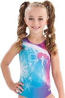 GK 体操紧身连衣裤,适用于 Disney Anna & Elsa Frozen 连体衣