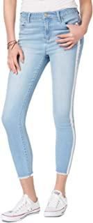 Tinseltown 青少年条纹紧身牛仔裤