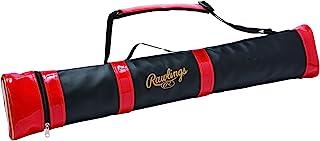 Rawlings(Rawlings)棒球 球棒盒(2支装) EBC10S03 黑色/红色 W90XH12XD8cm