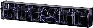 透明倾斜存储系统硬件收纳箱工具收纳箱 (6)