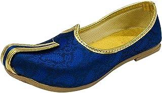 Step n Style Designer Ethnic Punjabi Mojari Juttis 男孩,小孩子,男童鞋(幼儿)Sherwani Shoes Designer Kurta 鞋