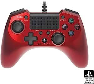 【PS4/PS3对应】水平板 FPSPlus-Variation_P 红色