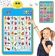 电子互动字母挂图,*佳幼儿教育玩具。儿童在日托、幼儿园、男孩和女孩的乐趣学习