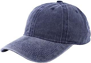 棒球帽水洗仿旧高尔夫球帽可调节棉质马尾帽休闲运动爸爸帽