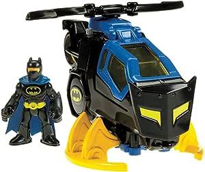 Fisher-Price Imaginext DC《超级英雄战队》蝙蝠侠直升机