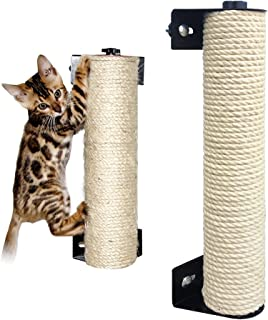 LOHOME 猫抓柱 – 猫抓挠杆专为猫猫咪爬架设计,Sisal Cat Cage 猫抓柱猫家具 3.5 * 13.7 inch