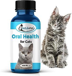猫口腔*及牙齿护理补充剂 – 天然缓解*和牙龈* – 易于使用