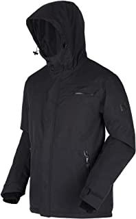 Regatta 男士 Volter Shield Ii 防水透气贴带接缝隔热多口袋加热夹克