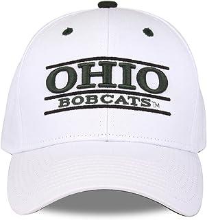 Ohio Bobcats 成人游戏栏可调节帽子 - 白色,