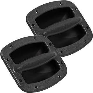 Seismic Audio - SAHDL402-2 件装 - 一对塑料嵌入式手柄 适用于 PA/DJ 扬声器柜 - 更换扬声器橱柜手柄