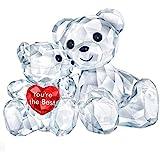 Swarovski 施华洛世奇Kris Bear - You are the Best 雕像,水晶,多色可选,轻质,3…