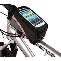 炫舞 升级版第五代自行车包 可透视手机包 自行车可隔屏触摸手机包 骑行手机包 运动单车修理工具组合补胎工具包 手机尺寸可…