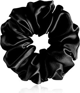 Fantastic House 丝绸卷发夹,适合女士发质,弹性发带弹力发绳,弹力发带