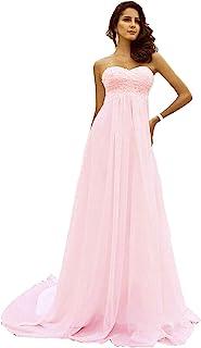 沙滩婚纱加大尺码女士长款心形领婚纱蕾丝珍珠水钻新娘礼服 2019