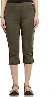 Erika 女士 Joey 套穿修身直筒七分裤
