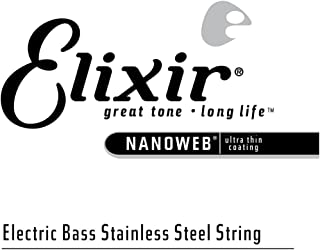 Elixir 13381 .080 Nanoweb 不锈钢 贝斯单弦